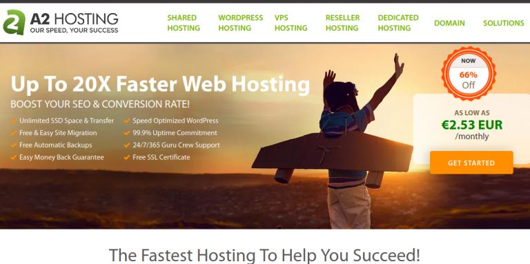 A2 Hosting WordPress Hosting