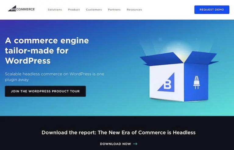 BigCommerce for WordPress Website