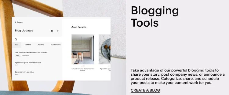 Squarespace Blogging Tools