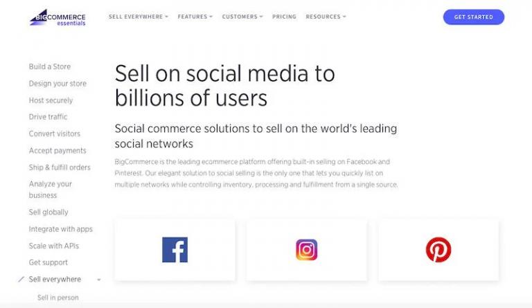 bigcommerce-social-media-integration