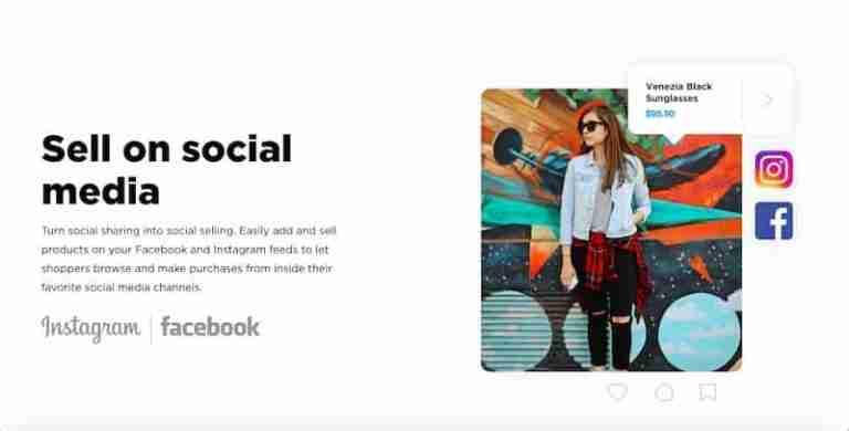 ecwid social media integration