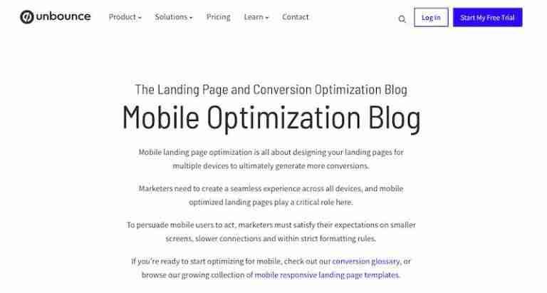 unbounce-mobile-optimization
