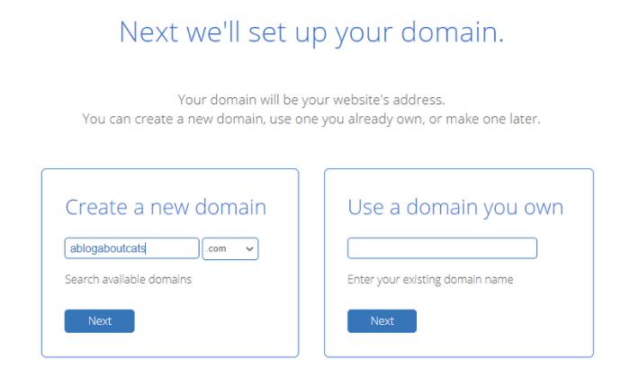 Bluehost-Domain-Setup