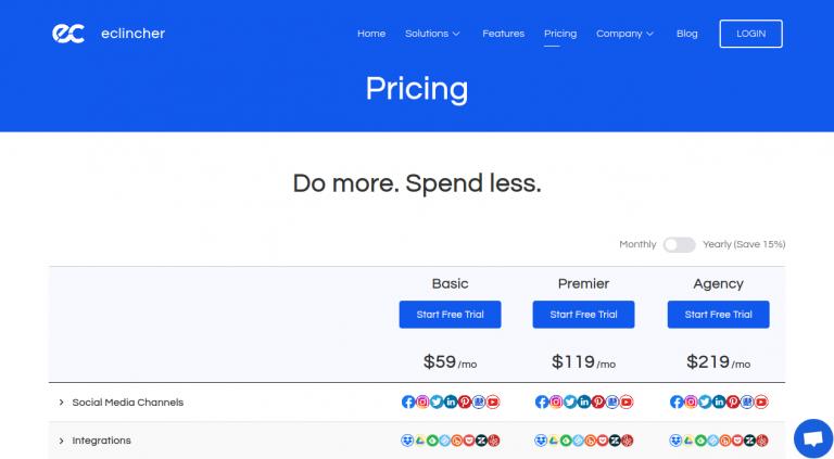 Pricing - Eclincher