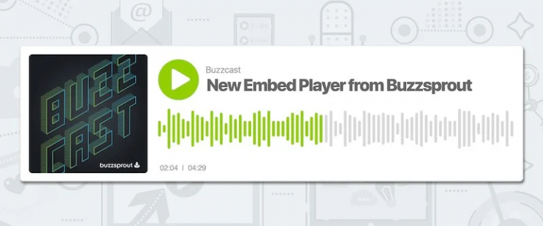 Buzzsprout-Embed-Player