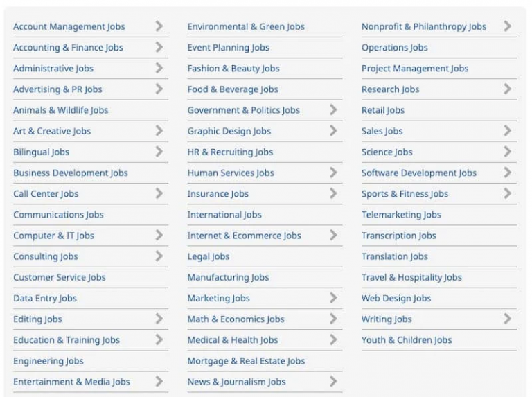 Flexjobs-Job-Categories-List