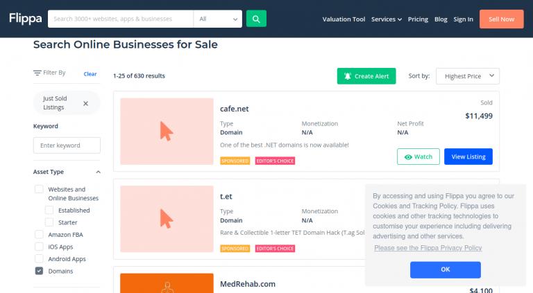 Online Business For Sale Flippa