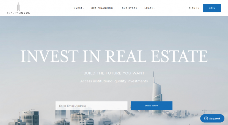 RealtyMogul Real Estate Crowdfunding Investing