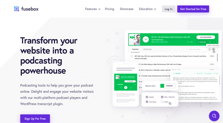 ScrFusebox - Transform Your Website Into a Podcasting Powerhouse