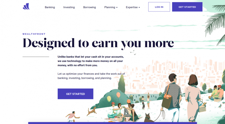 Wealthfront Banking, Automated Investing