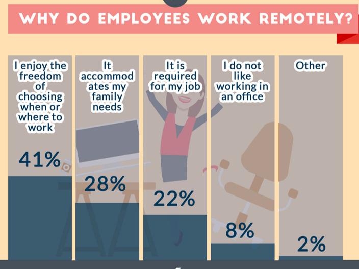 Work fom Home Infografic