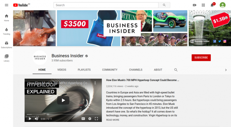 YouTube Business Insider