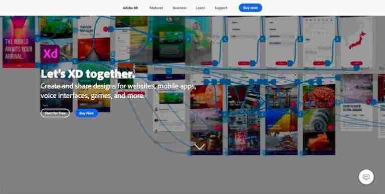 adobe-xd-best-web-design-software