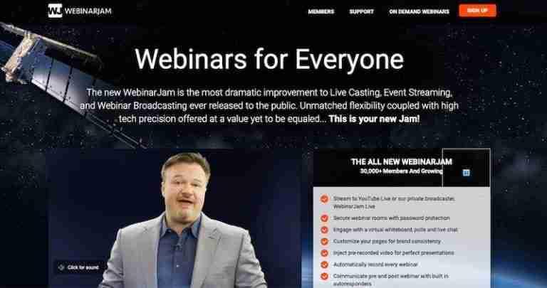 WebinarJam - Webinar Platform