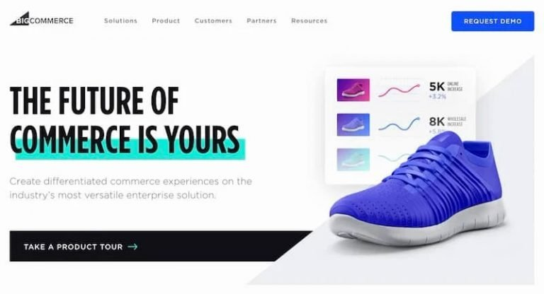 BigCommerce-Home-Page