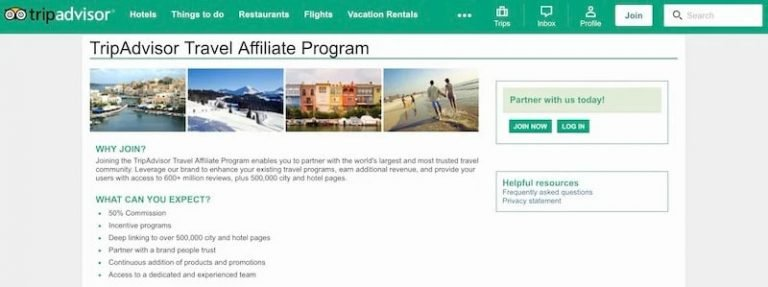 TripAdvisor-Affiliate-Program
