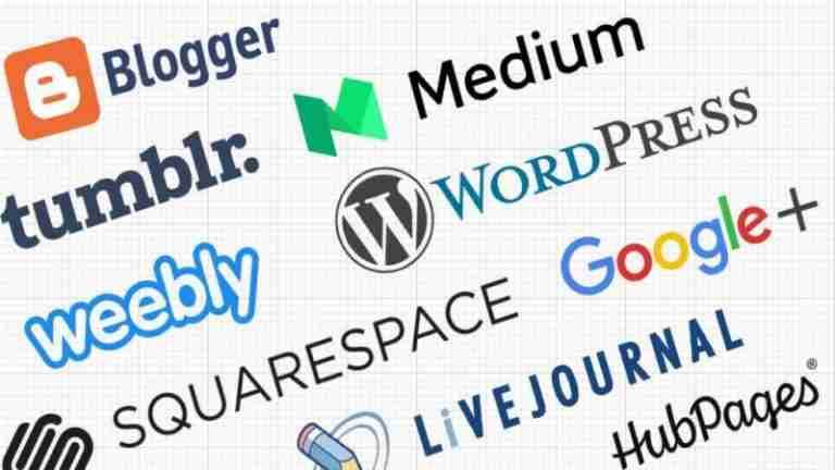 Choose-blogging-platform